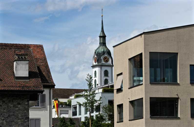 Sempach sous l'angle de l'architecture