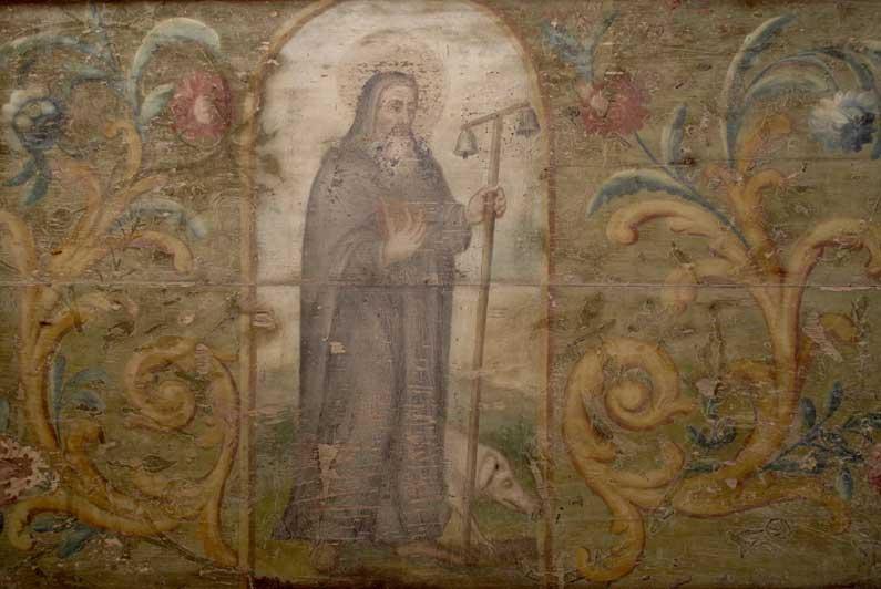 Saint Antoine et son petit cochon
