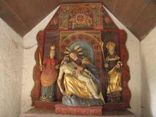 365 x Sempach Intérieur de la Chapelle Saint Nicolas 2