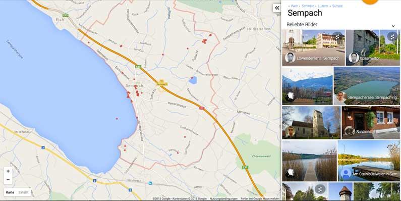 Découvrir Sempach sur Street View