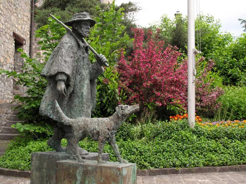 Le berger et son chien