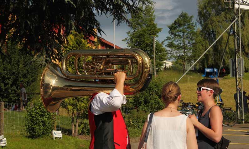 365 x Sempach Musique, foot et tennis en fête à Sempach
