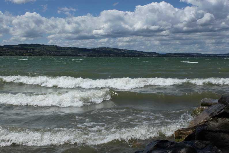 365 x Sempach Le lac de Sempach par grand vent