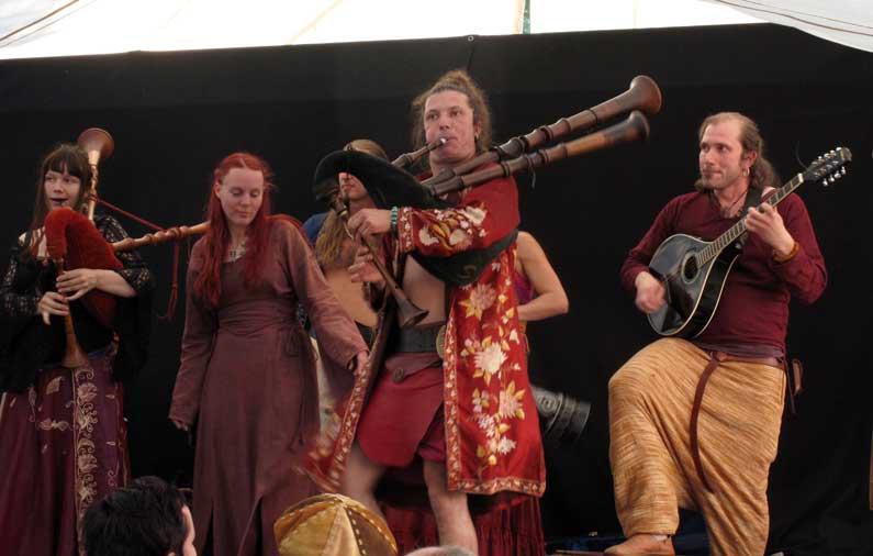Le Moyen Age à la fête