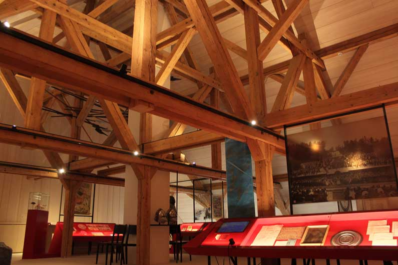 365 x Sempach Exposition sur la bataille dans le Musée de Sempach avec une présence de Genevois